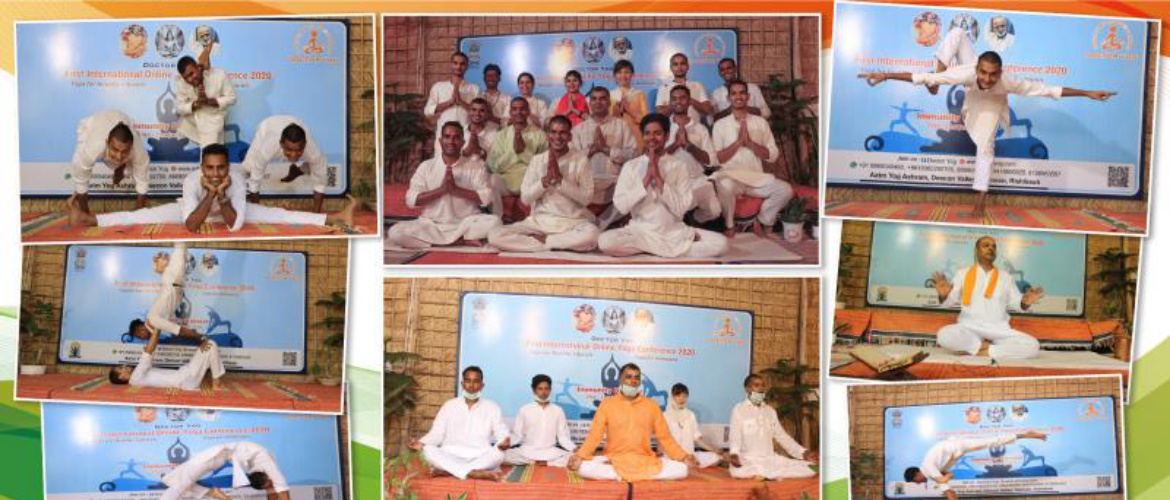 Dr. Yog's Ist International Yoga conference