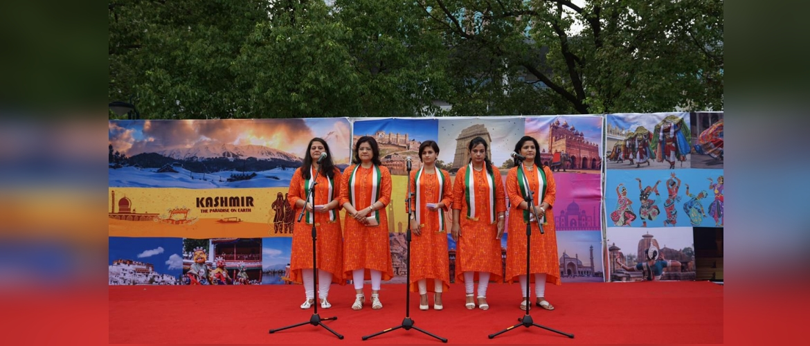 Celebration of 73rd Independence Day of India at The consulate General of India in Shanghai