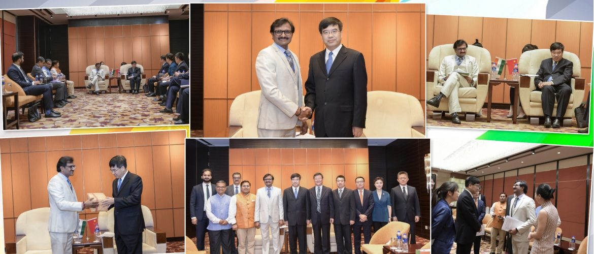 Indian delegation led by Dr S.E Reddy, Drug Controller General of 