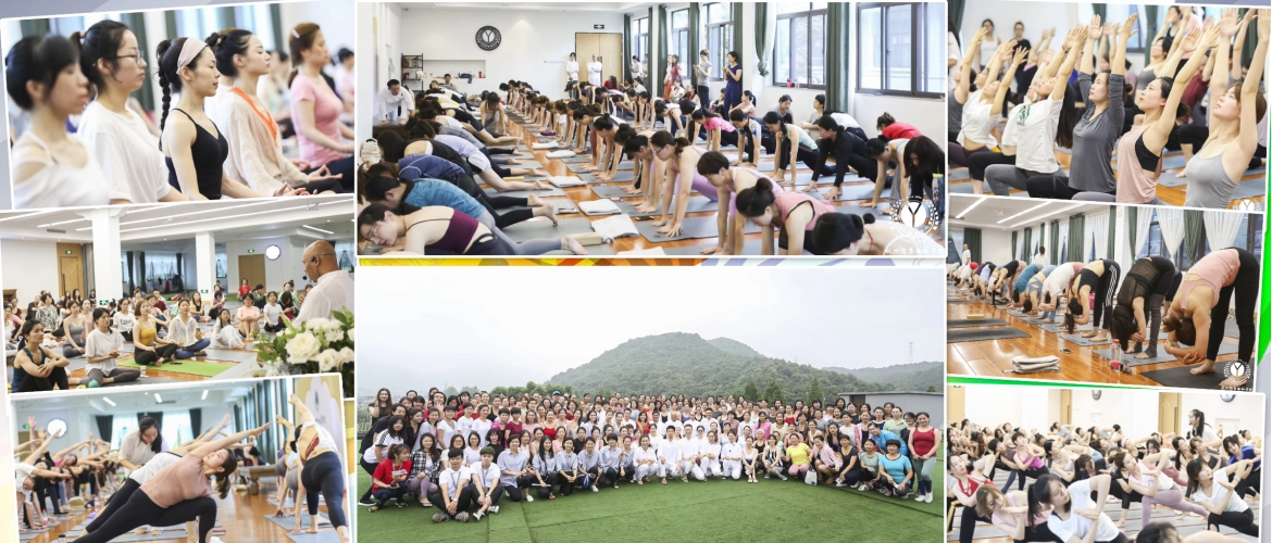 IDY event #6 at Hangzhou. Yoga day celebrations continue in 