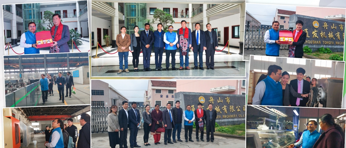 CG Anil Rai visited Zhoushan Tongfa Machinery Company ltd and Zhejiang Golden Eagle Group co. 