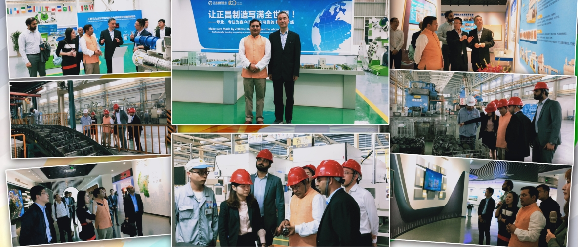 The Indian delegation led by CG Anil Rai, visited the Zhongguancun 