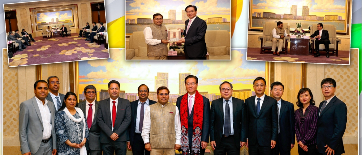 CG Anil Rai, along with a delegation of Indian businessmen and 