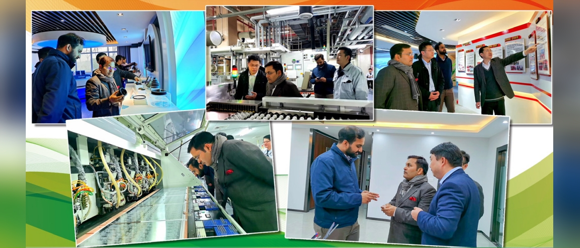 Visit to Xishan Sci-Tech business Incubation Park
